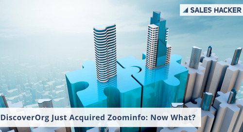 How Will DiscoverOrg's Acquisition of ZoomInfo Affect Sellers?