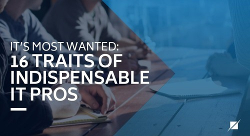 IT's most wanted: 16 traits of indispensable IT pros