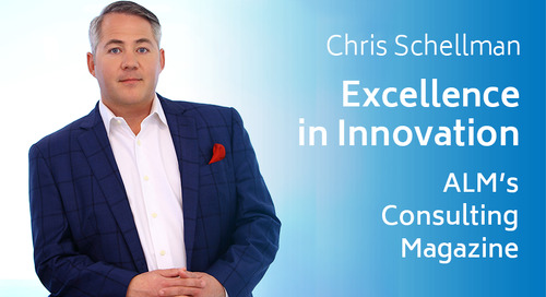 Chris Schellman Recognized for Excellence in Innovation by Consulting Magazine