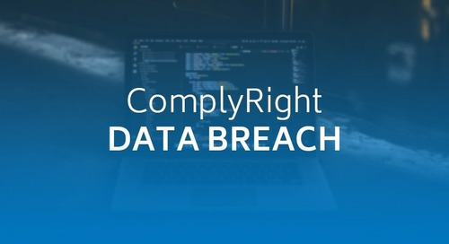 ComplyRight Data Breach Affects 662,000, Gets Lawsuit