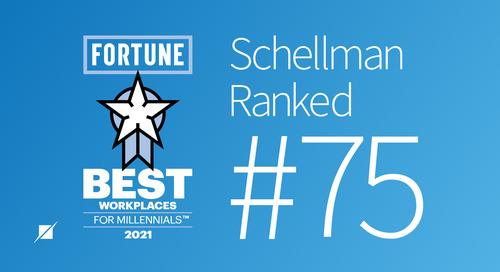 Schellman Named a Best Firm for Millennials