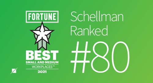 Schellman & Company, LLC Chosen Among Best Small & Medium Workplaces