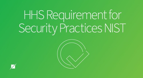 HHS Requirement for Security Practices NIST