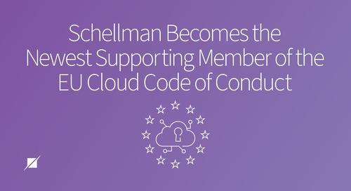 Schellman Newest Supporting Member of EU Cloud CoC