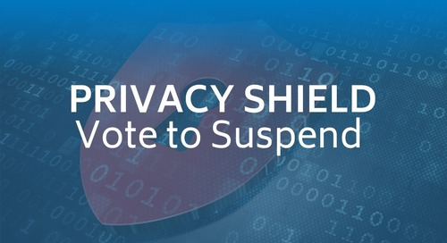Privacy Shield: Vote to Suspend