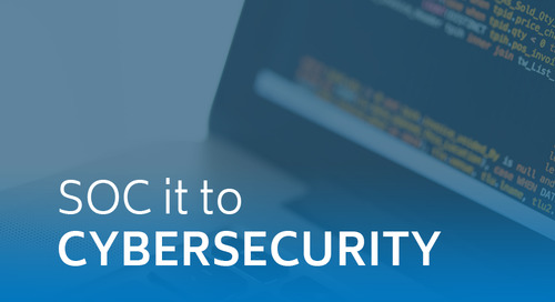 SOC it to Cybersecurity