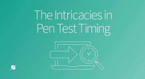 The Intricacies in Pen Test Timing