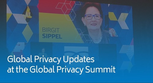 Global Privacy Updates at the Global Privacy Summit