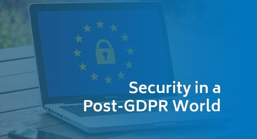 Security in a Post-GDPR World