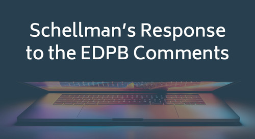 Schellman's Response to the EDPB Comments