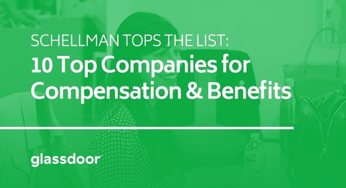 Schellman Tops the List: 10 Top Companies for Compensation & Benefits