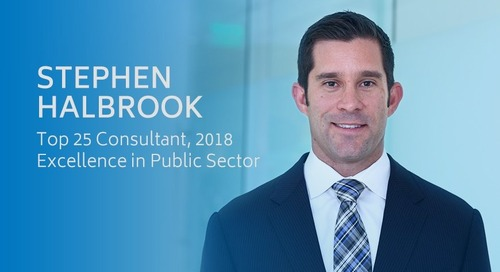 Top 25 Consultants, 2018 - Excellence in Public Sector