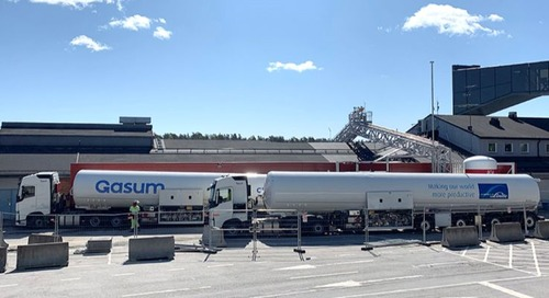 Gasum opens new LNG bunkering station in Stockholm - Seatrade Maritime News