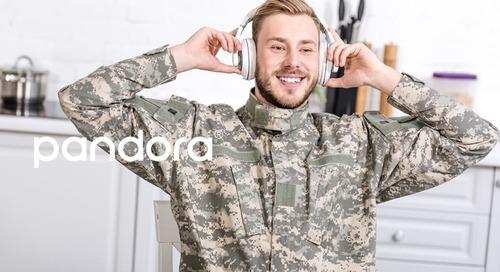 Pandora Targets Streaming Media's Next Hot Segment: The Military