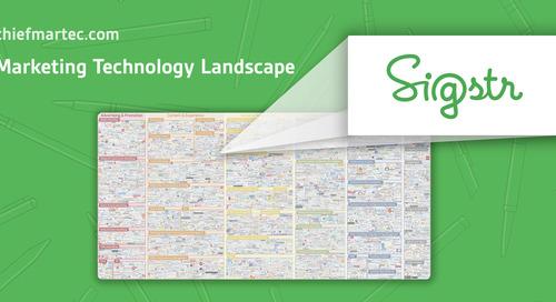 MarTech Marketing Technology Landscape: Email Signatures