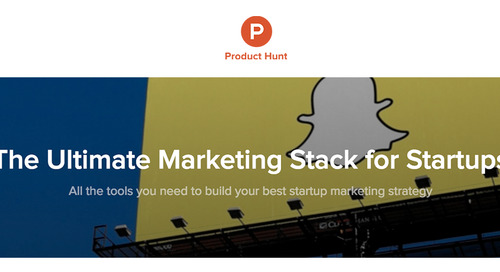 Recommended Marketing Tech Stack for Startups