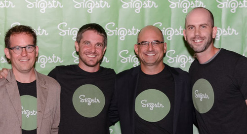 Happy #CNX16 Week from Scott Dorsey and the Sigstr Team