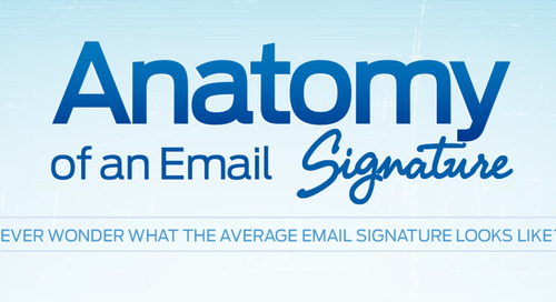 Evercontact Infographic: The Anatomy of an Email Signature