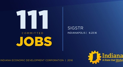 A Recap of Today's News: Sigstr to Invest $1.4M and Create Over 100 Jobs in Indianapolis