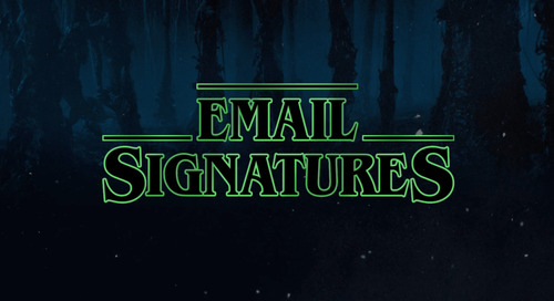 If Stranger Things Characters Had Email Signatures