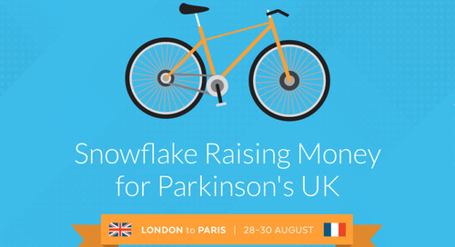 Snowflake Cyclists Gear up to Raise Money for Parkinson's UK