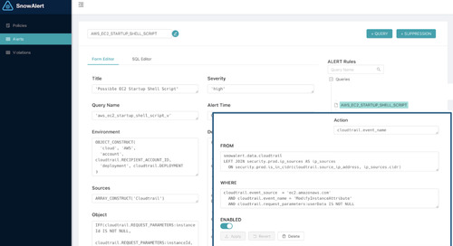 Snowflake Using Snowflake for Security Analytics and Regulatory Compliance