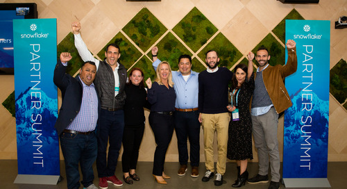 Recognizing Partners at the 2019 Snowflake Partner Summit