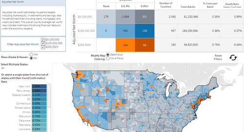 New Coronavirus Dashboards Reveal Which U.S. Counties May Start Spending First