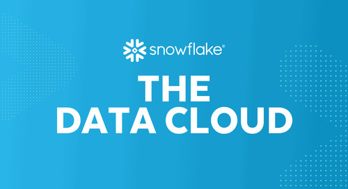 Snowflake Launches the Financial Services Data Cloud to Accelerate Customer-Centric and Data-Driven Innovation  in the Financial Services In