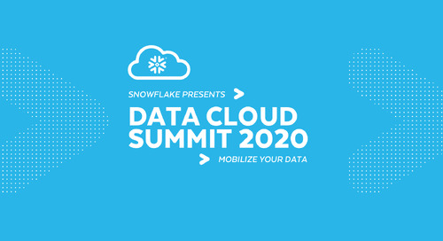 Data Cloud Summit 2020 Announcements