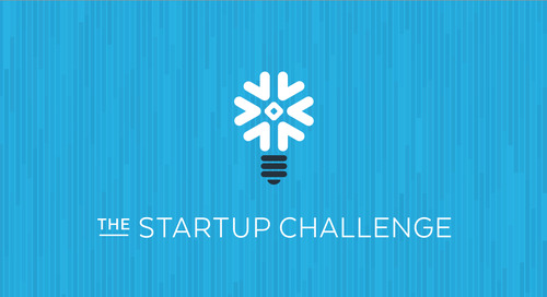 Announcing the Snowflake Startup Challenge