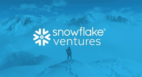 Introducing…Snowflake Ventures