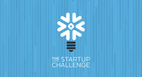 Announcing the 10 Semi-finalists from the Snowflake Startup Challenge