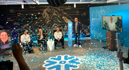The Winner of the Snowflake Startup Challenge Is…