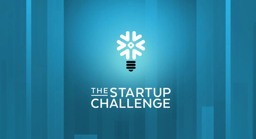 Announcing Snowflake Startup Challenge 2022 with Prizes Totaling Up to $1M