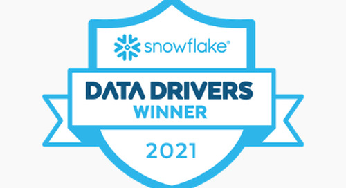 Snowflake Announces Third Annual Data Drivers Award Winners, Honoring the Leaders Transforming Their Industries with the Data Cloud