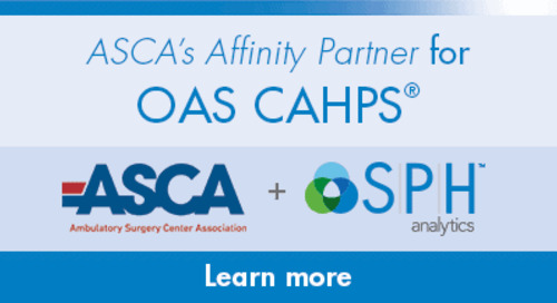 SPH Analytics Selected as ASCA Affinity Partner for OAS CAHPS Survey