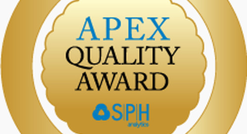 SPH Analytics Announces 2017 National APEX Quality Award Winners  for Healthcare Excellence
