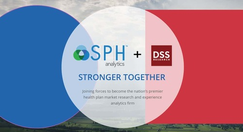 SPH Analytics Acquires DSS Research, Strengthens Market Position as the Nation's Premier Health Plan Market Research Firm