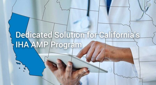 SPH Analytics Announces Dedicated Solution for California's Integrated Healthcare Association Commercial HMO AMP Program