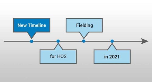 CMS Announces New Timeline for HOS Fielding in 2021