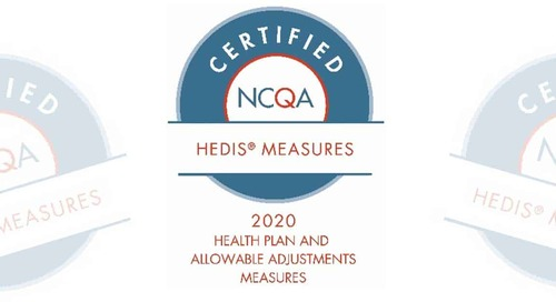 SPH Analytics' Receives NCQA Certification for 2020 HEDIS Measures