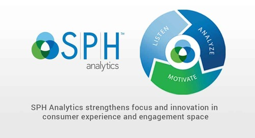 SPH Analytics Strengthens its Focus and Innovation in Consumer Experience and Engagement Space