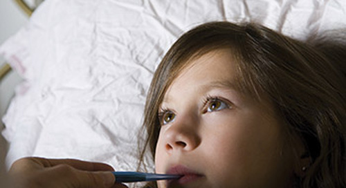 Why does a fever seem to spike at night?
