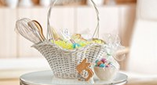 Create guilt-free Easter baskets with these 13 fun, healthy ideas