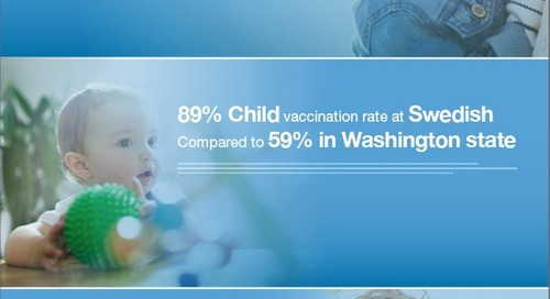 Getting it right: Swedish immunization program supports children's health