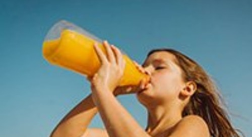 Oops, children should not be drinking juice after all