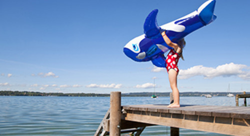 Water dangers can extend to dry land