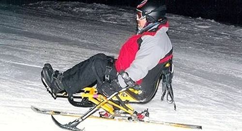 MS Patient Enjoys Skiing Again