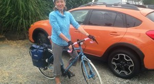 A letter from Jen Vetrovs, RN, BSN, who embarks on Bike the US for MS